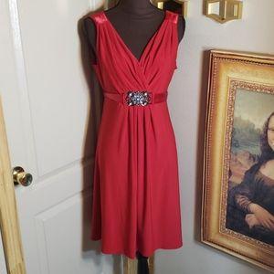 Scarlett nite red dress size 14